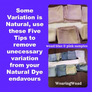 Tips for Naturally Dyeing Yardage