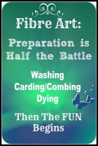 Fibre Art: Preparation is Half the Battle Part 3 of 3