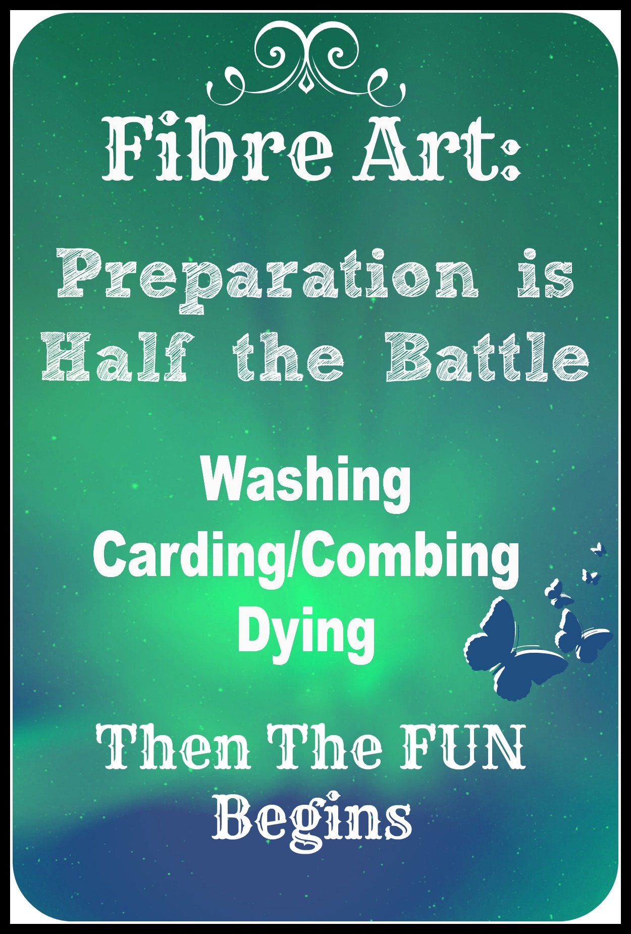 Successful Fibre Art: Preparation is Half the Battle Part 1 Washing