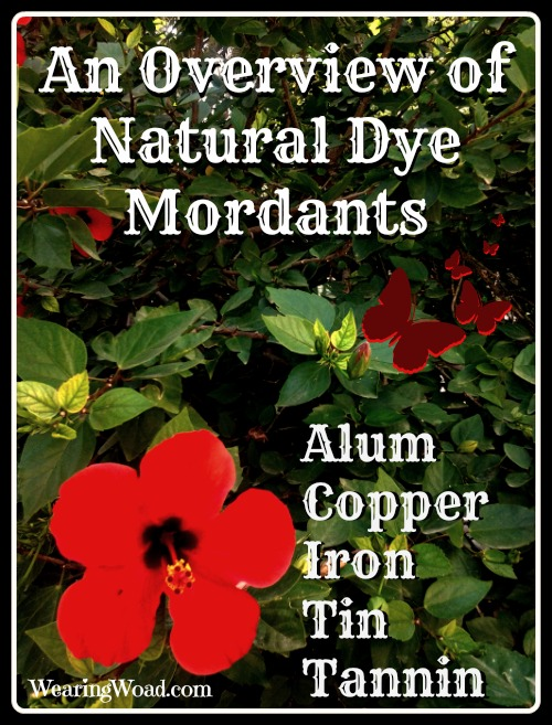 Overview of Natural Dye Mordants