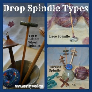 drop spindle types