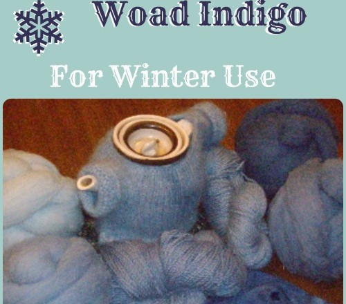 How to Store Woad Pigment for later use