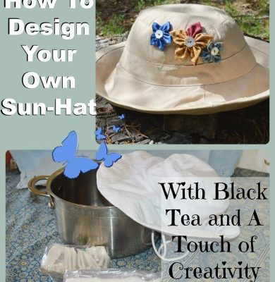 How to Create Your Own Designer Sun hat