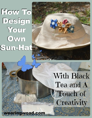 How to upcycle your own designer sun-hat