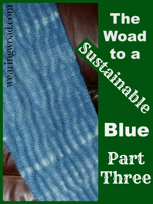 the woad to a sustainable blue part three