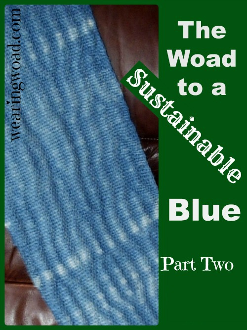 the woad to a sustainable blue part two