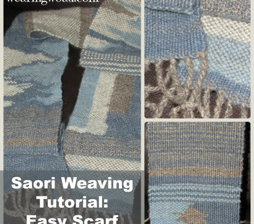 Saori Weaving Tutorial: Weaving a Scarf With Saori Techniques