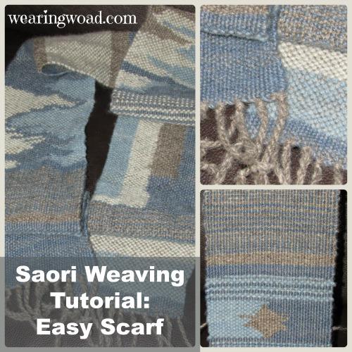 Saori Weaving Tutorial_Easy Handwoven Scarf