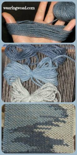 saori weaving tapestry technique