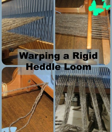 Saori Weaving Tutorial: Warping a Rigid Heddle Loom