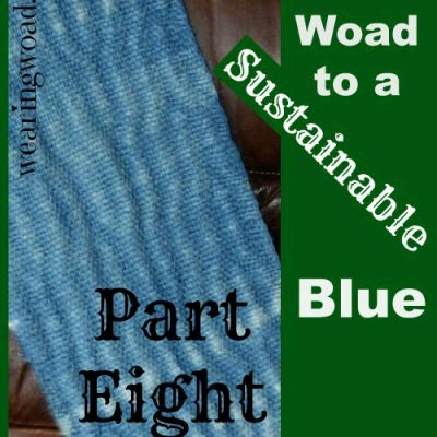 The Woad to a Sustainable Blue Part Eight: The Color of Woad