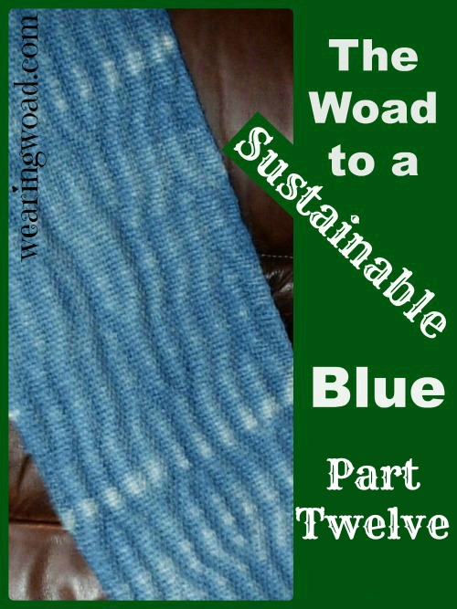 the woad to a sustainable blue part twelve