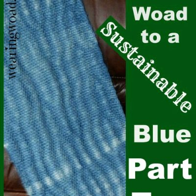 The Woad to a Sustainable Blue Part Ten: Woad Indigo The Traditional Extraction Method