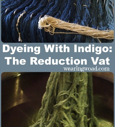 Creating a Natural Indigo Dye Reduction Vat
