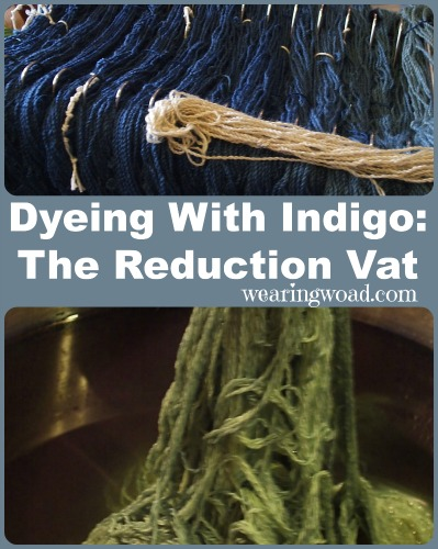 dyeing with natural indigo the reduction vat