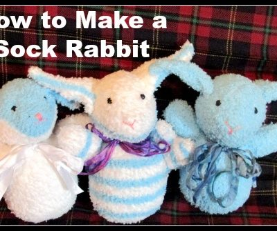 How to Make a Sock Rabbit