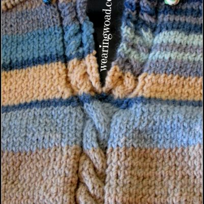 A Work in Progress Part Three: Knitting a Vertically Striped Sweater