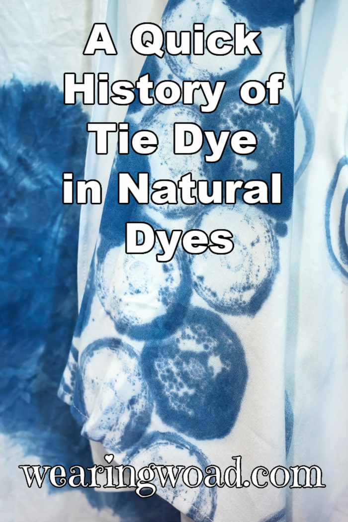 blue dye effects on white fabric